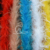 Decorative garment accessory artificial curly ostrich feather 2 Yards in bundle -colored ostrich feathers