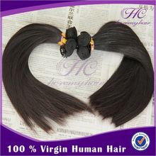 Can be dyed cheap 100% full cuticle attached raw peruvian hair