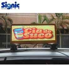 Mobile Taxi Advertising Trailer Bus Digital Billboard Truck Car Roof Signs Bus LED Display