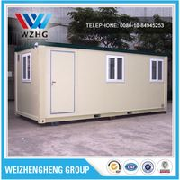 cheap flexible container house for sale