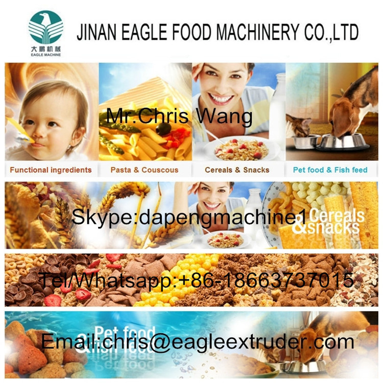 Crispy Corn Flakes Breakfast Cereals Making Machine