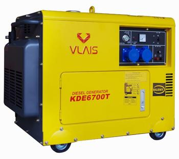 KDE6700T vlais export china power 5kw diesel generator set factory price