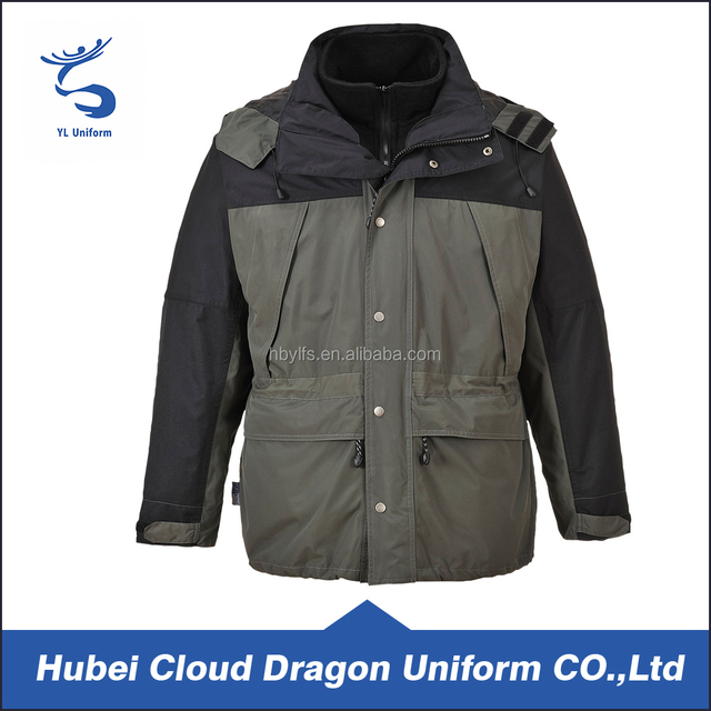 2016 Stylish security clothing cheap men winter jackets water proof