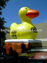 giant inflatable promotion duck/ inflatable rubber duck for advertising