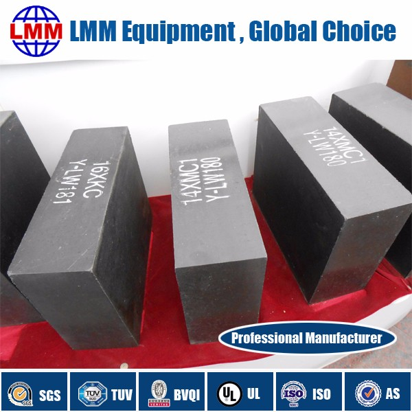 Leading magnesium 95% MgO-Al2O3 bricks for steel casting erosion resistance