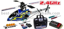 6 channels 2.4GHz radio control helicopter