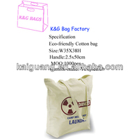 china manufacturer new product eco logical organic cotton shopping bag promotion/tote bag/big handbag