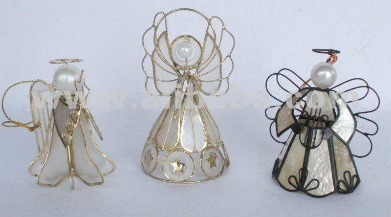 Capiz Angels / Handmade Christmas Decors