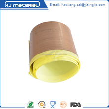 Anti-adhesion silicone adhesive teflon tape roll for bottom sealing machine