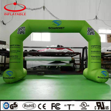small advertising entrance archway inflatable air arch with QR code