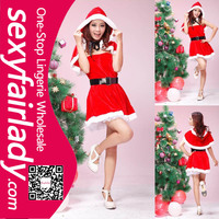 Beautiful wear so chap sexy beauty girl christmas costume lingerie