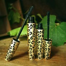 Love Alpha Leopard Mascara set FIBER LASHES makeup For Eyelashes smoked dense eyelashs long eyelash silicone brush