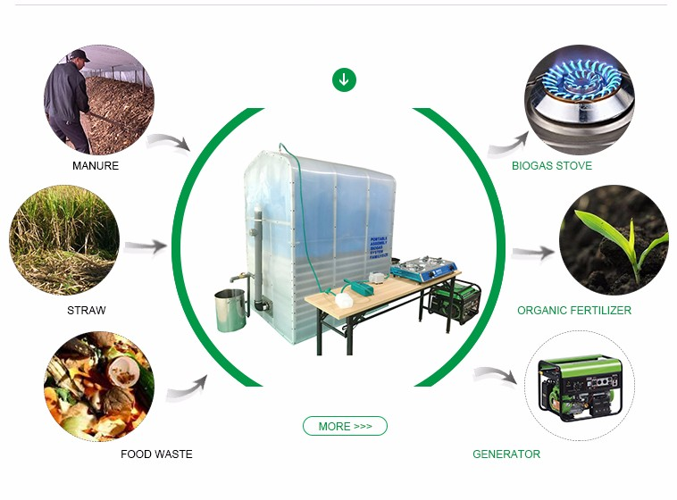 Newly Designed Biogas Digesters From Vegetable Waste