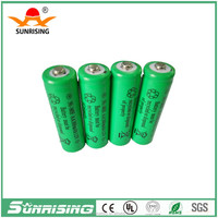 nimh battery pack aa 300mah 1.2v rechargeable nimh battery AAA/AA/SC/C/D