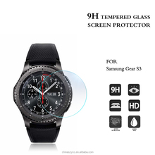 Watch accessories 2016 0.2mm Full Screen Cover 9H Hardness For Gear S3 tempered glass film / screen protector glass