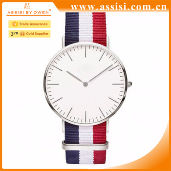 Customize DW Simple Style Watch Brand Your Own Logo Men Quartz Watches