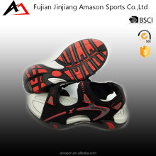Custom hot sale brand sport sandals with pu nubuck uppers