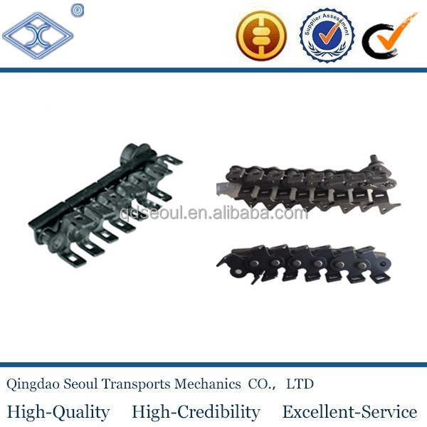 High quality conveyor chain with side roller for metal decorating system HXP25.4F1