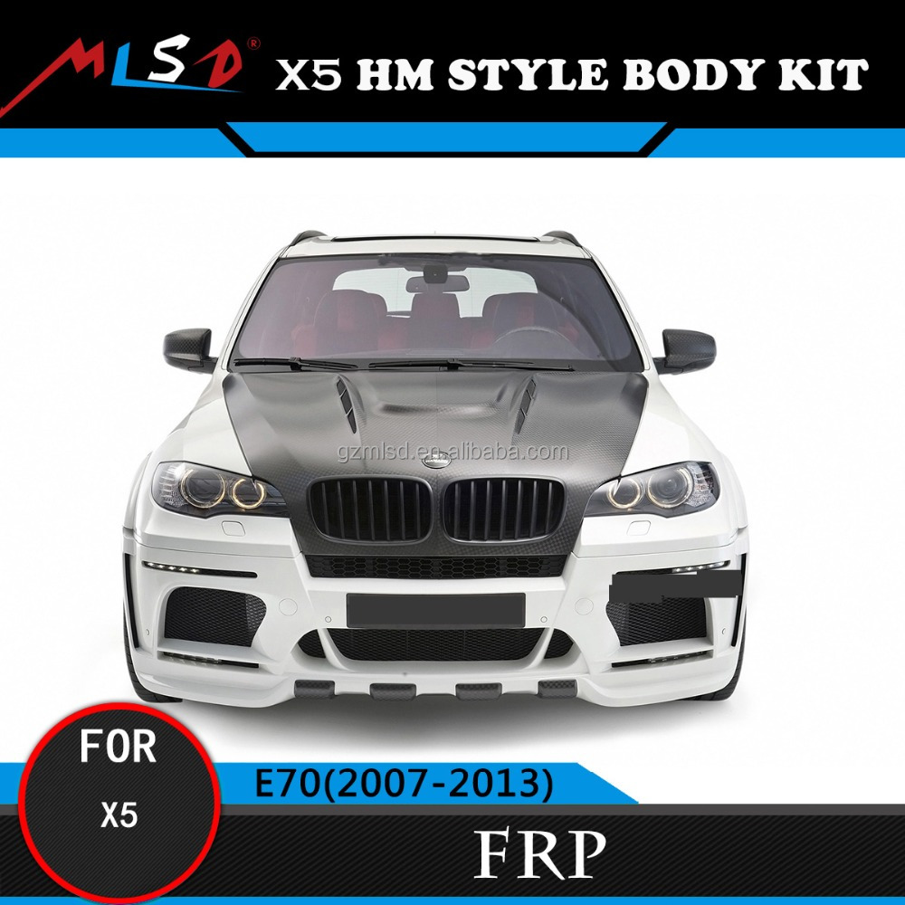 High Quality Perfect Fitment X5M HM Style Styling Bumper For BMW X5 E70 Body Kits 2007-2013
