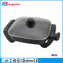 Pie cooking baking Pancake Frying Pan Grill and Griddle electric pizza pan