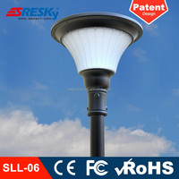 Ce Rohs Waterproof Led Solar Lamp Post Lights Outdoor Fixture