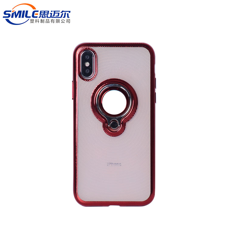 Attractive appearance personalize case with finger ring for iphone X
