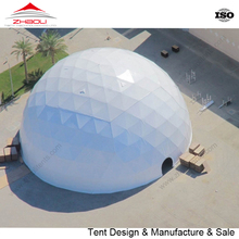Big tent wrought iron geodesic dome for sale