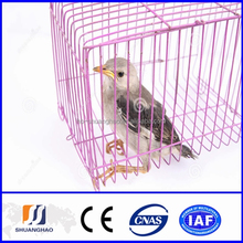 Small cheap steel wire bird cage(manufacturer)