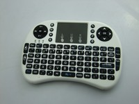 Wireless Rii Mini I8 air mouse with QWERTY keyboard for Android TV box