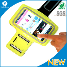 High quality Neoprene fabric armband case for iphone 5 5S 5c made in china
