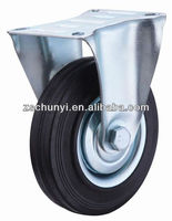 The 5 inch Industrial wheel , Rubber material,quill roller