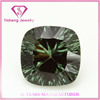 different shapes green rough 13#corundum ruby gemstone for jewelry