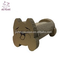 Unique style by our professional design team glossy lamination surface finish cardboard cat scratcher supply price
