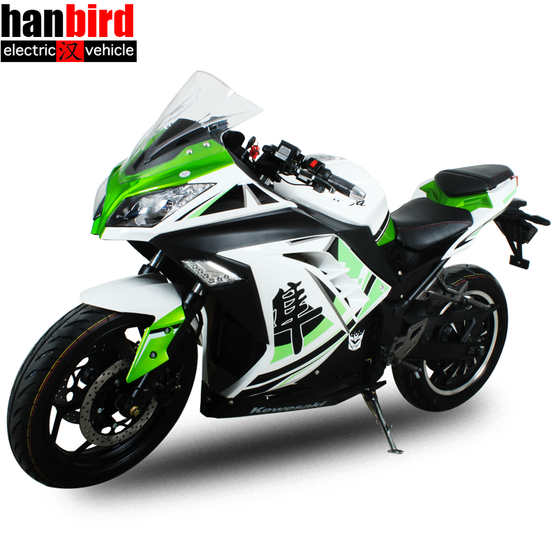 5000w High Speed CBR Racing Electric Motorcycle for Sale