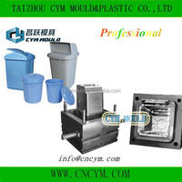 hot sell high quality plastic injection dustbin cover mould