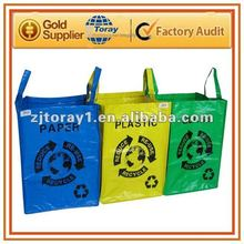 Reusable PP classification garbage bag