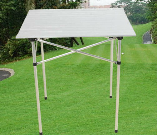 Portable Compact Aluminium Folding Picnic Table for outdoor use composite picnic tables