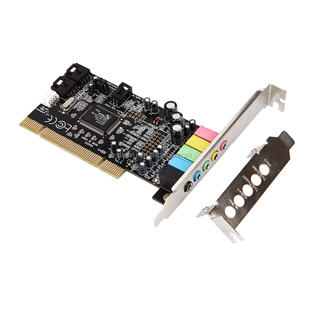 manufacturer direct sale CMI 8738 6 channel pci audio sound card