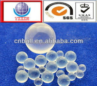 Latest small transparent 6.5mm 7.144mm 8.731mm 10mm Solid Glass ball