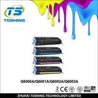 High quality Q6000A color toner cartridge for HP 1600 printer