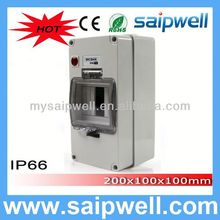 2014 Hot CE approve 56CB4N IP66 waterproof 12 ways flush distribution box high quality saip