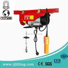 Factory wholesale PA200 micro electric hoist and 110v electric hoist