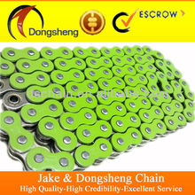 European Standard color o-ring motorcycle chain 520