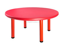 Good Reputation Factory Price Kids Plastic Round Table
