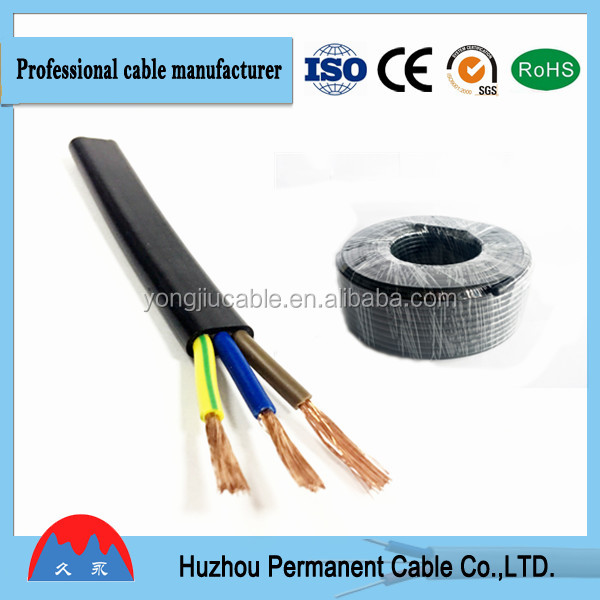electric wire and cable 10mm, Sheathed Flexible Cable/zambia wire and cable/ningbo manufacturer