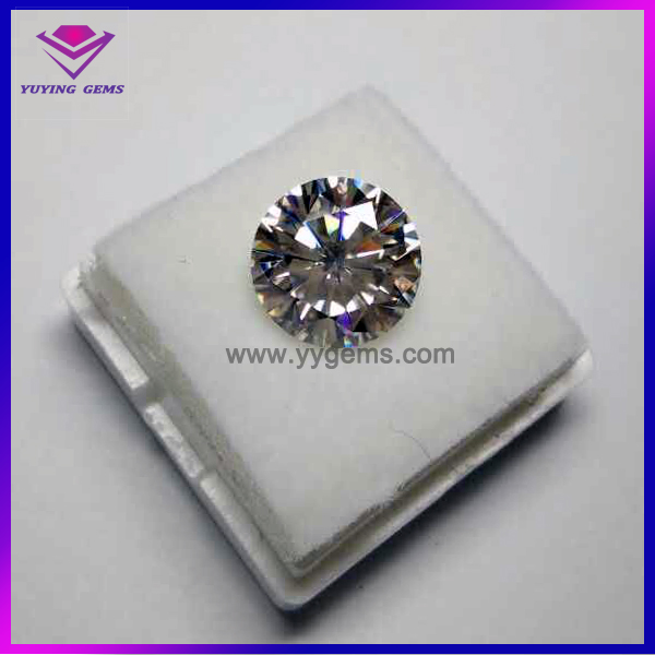 New Year Hot New Product Bulk Wholesale Loose Synthetic Rough Moissanite White Diamond Prices Per Carat