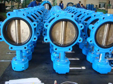 Advanced production technology Full Lug Type Cast Iron Butterfly Valve