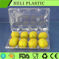 disposable plastic fruit and vegetable packaging tray/container