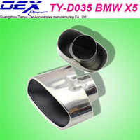 high quality car stainless steel B-MW X5 / E70 exhaust muffler tips