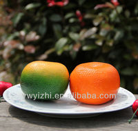 fake grape/artificial tangerine,fake fruit for home decoration ,fake vegetable for party decoration